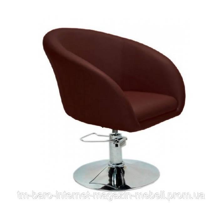 Кресло Мурат Р, коричневый кожзам
