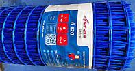Сетка для стяжки пола Vertex G120 ячейка 40х40 мм. плотность 145 гр\м2 1х50 м2 в рулоне, фото 1