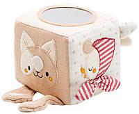 Игрушка Labebe Organic Cotton activity Cube HY051215A