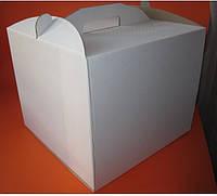 Коробка картонна для торта 30 см х 30 см х 25 см (30Т)