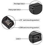 GPS трекер мини GF-07 с микрофоном GSM/GPRS маячок, чип, прослушка, фото 3