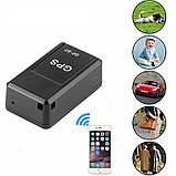 GPS трекер мини GF-07 с микрофоном GSM/GPRS маячок, чип, прослушка, фото 6