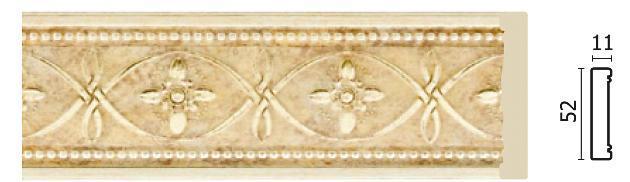 Молдинг для стен Арт-Багет 156-933, интерьерный декор.