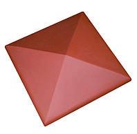 Клинкерная накрывка красная CRH 445*445