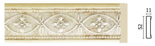 Молдинг для стен Арт-Багет 156-937, интерьерный декор.