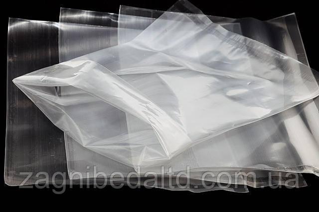 Полиэтиленовый мешок для засолки прочный 100мкм  65х100 прозрачный
