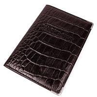 Обложка для паспорта кожаная коричневая Desisan 19, Турция