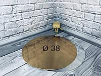 *10 шт* / Подложка под торт 38см, Золото-серебро, 380мм/мин. 10 шт., фото 1