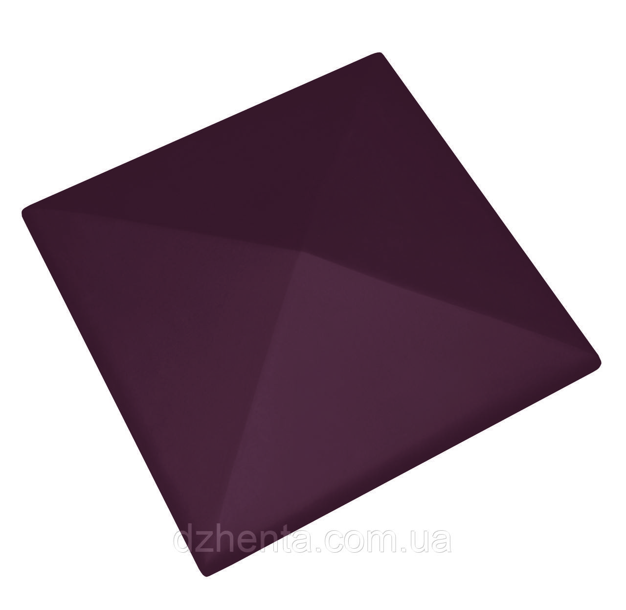 Клинкерная накрывка рубиновая 445*445