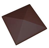 Клинкерная накрывка коричневая CRH 445*445