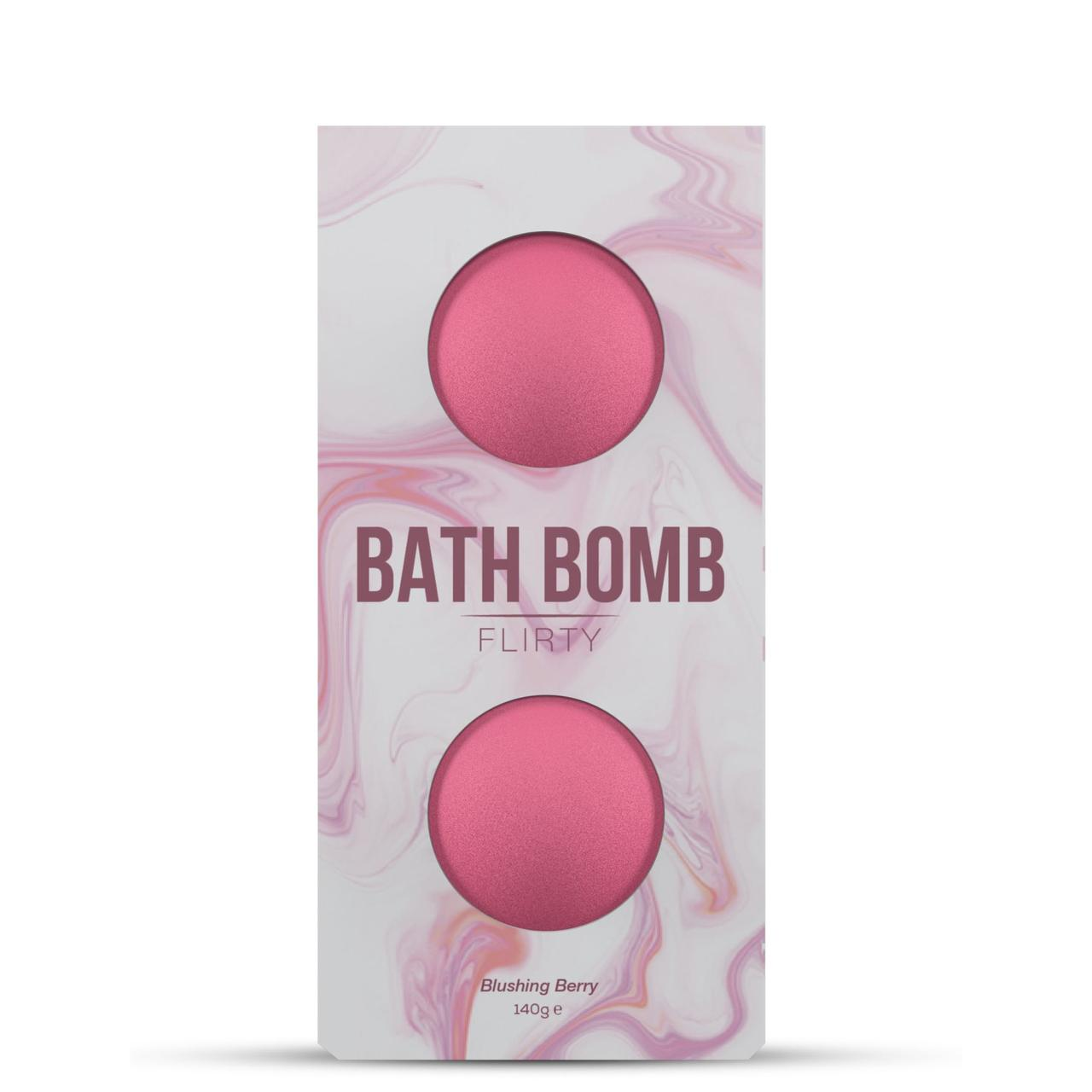 Бомбочка для ванны Dona Bath Bomb Flirty Blushing Berry, 140 г