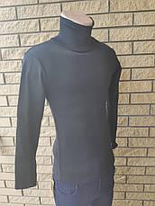 Гольф, водолазка плотный, теплый на флисе унисекс NN (подростковый), фото 3