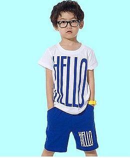Летний костюм HELLO для мальчика 2 года