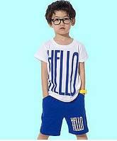Летний костюм для мальчика HELLO