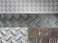 Калуш рифленый алюминиевый лист 1 2 3 4 15 мм АД0 АД31 (квинтет, диамант) опт розница
