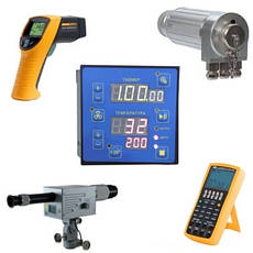 Прилади вимірювання, регулювання температури