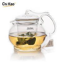 Cтеклянный заварочный чайник с стеклянным ситечком