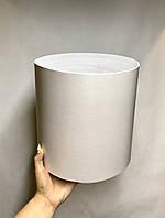 Коробка большая круглая высокая без крышки