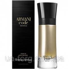 Мужская парфюмированная вода Giorgio Armani Code Absolu