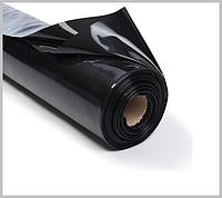 Пленка черная 20 мкм 3*100 м для мульчирования и строительства, фото 1