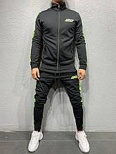 Мужской спортивный костюм (черный) - Турция
