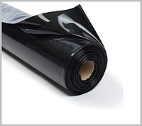 Пленка черная 80 мкм 3*100 м для мульчирования и строительства, фото 1