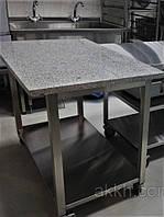 Стол с гранитной столешницей 1300*700*850 (проф)
