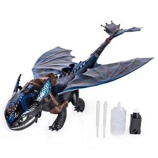 Как приручить дракона 3: дракон Беззубик большой, что дышит огнем (50 см) Spin Master