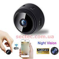 Мини IP WiFi камера Wanscam A9 для незаметного видео наблюдения 1080P FHD качество