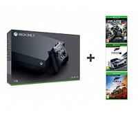 Microsoft Xbox One X 1TB +Forza HORIZON4+Motosport7+GoW4 CYV-00057
