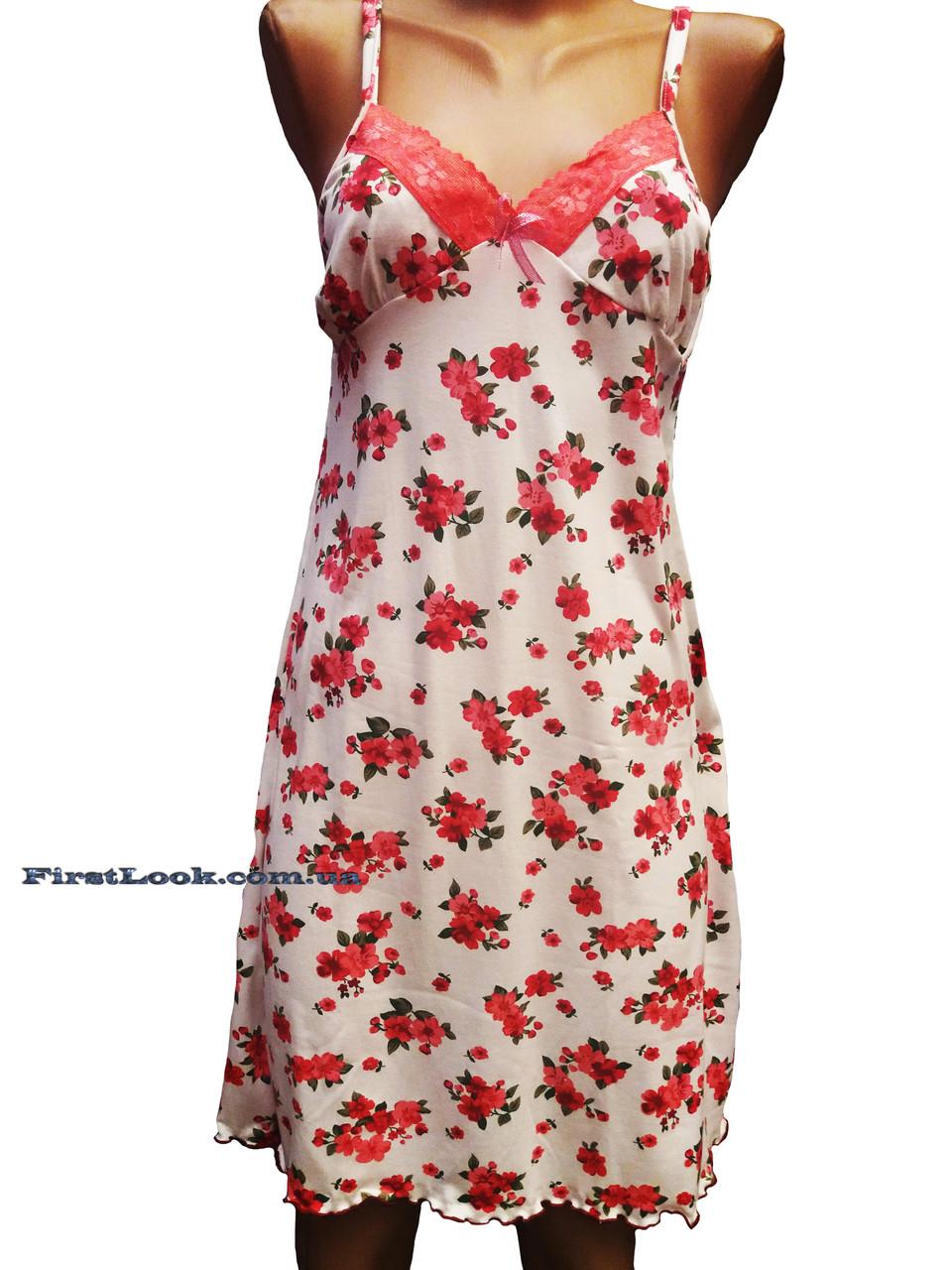 Женская ночная сорочка-бамбуковая
