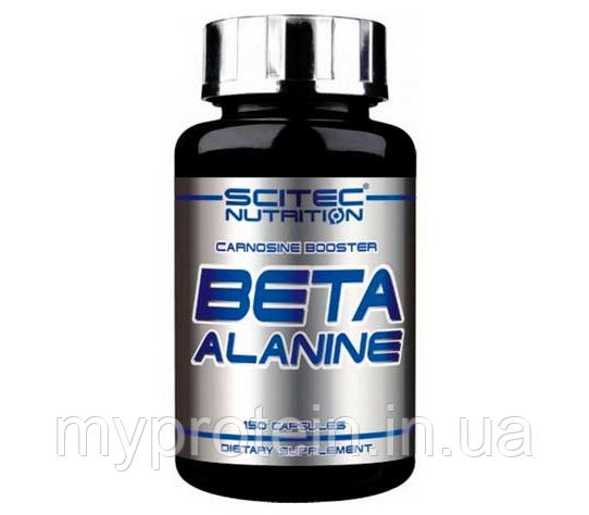 Scitec Nutrition Аминокислоты Бета Аланин Beta Alanine (150 caps)