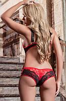 Сексуальное эротическое боди, кружевное белье светлое, фото 1