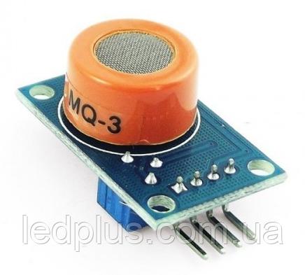 Модуль датчика паров алкоголя  MQ-3