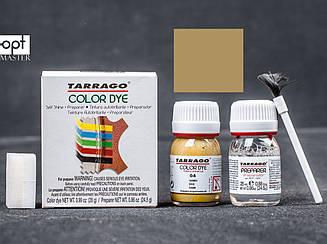 Краситель для гладкой кожи и текстиля + очиститель Tarrago Color Dye, 2*25 мл,  цв. бежево-коричневый (04)