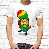 """Мужская футболка с принтом по мотивам мультфильма """"Миньоны"""" Push IT"""