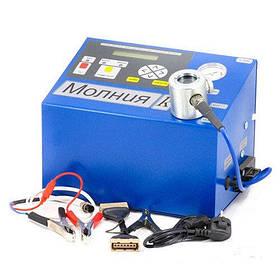 Прибор для проверки свечей зажигания Молния-К (220В) с компрессором