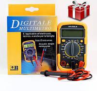 Мультиметр цифровой 1 сорт UK-830LN