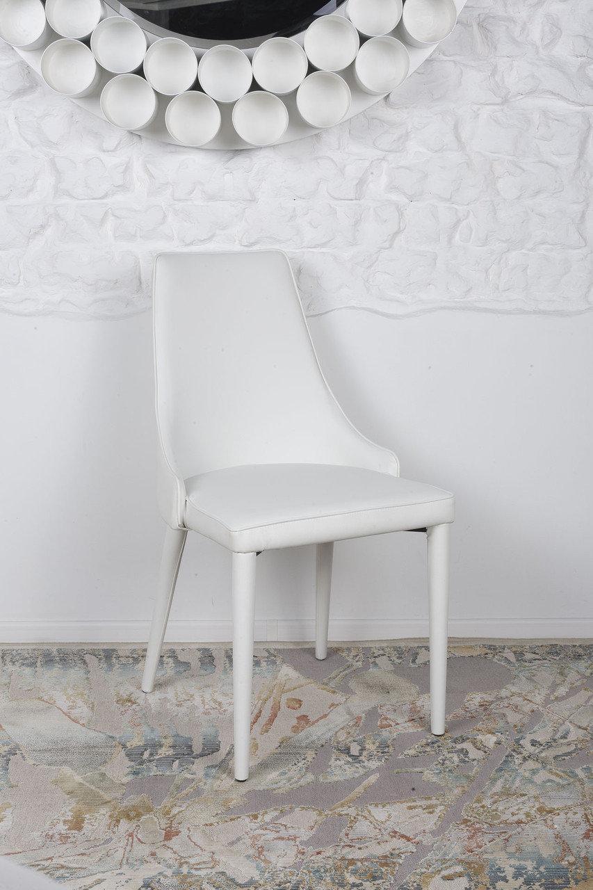 Стул Nicolas BERLIN 58х51х89 см белый