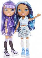 Игровой набор с куклой-сюрпризом серии Poopsie Rainbow Girls Фиолетовая или Голубая Леди, 561347