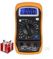 Цифровой мультиметр с измерением температуры оригинал DT-858L