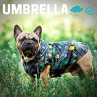 Непромокаемая одежда для собак, легкий жилет Umbrella FRB для мопсов, французских бульдогов