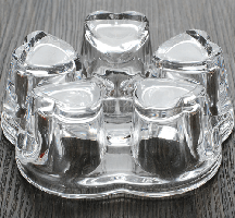 Подставка-подогреватель для чайника Сердце (800-1000 мл)
