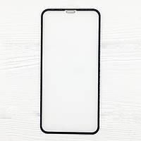 Стекло защитное для телефона iPhone XRцвет черный full screen