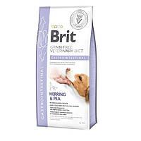 Ветеринарна дієта Brit VD Grain free Gastrointestinal. При гострих і хронічних гастроентеритах, 12кг