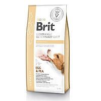 Ветеринарна дієта Brit VD Grain free Hepatic. Беззерновая дієта при печінкової недостатності, 12кг.