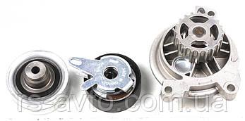 Комплект ГРМ + помпа VW Crafter 2.5TDI 06- (141х26) (помпа PA758), фото 2