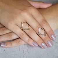 Геометрические кольца – трендовые украшения