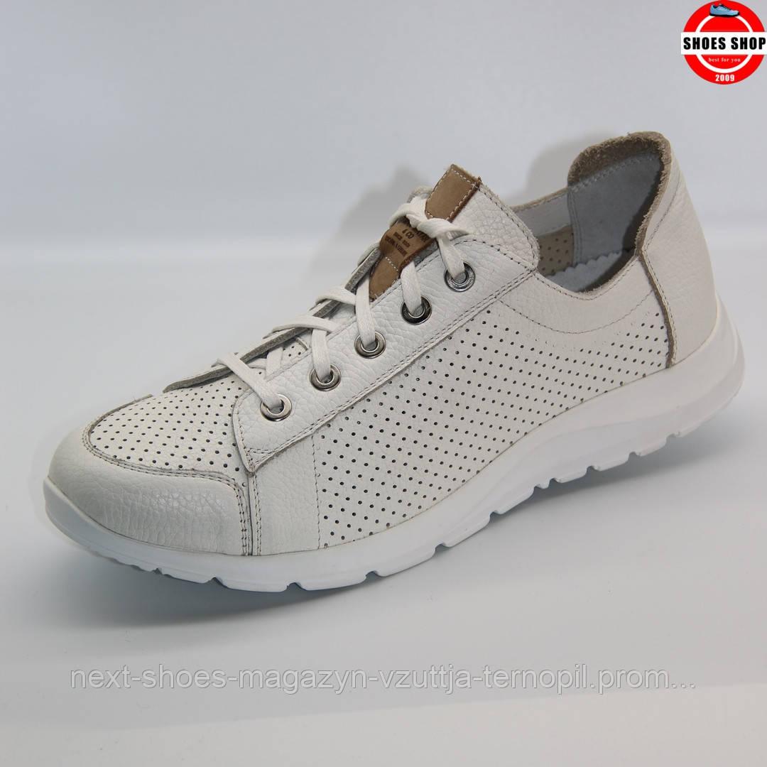 Чоловічі кросівки MAX MAYAR (Україна) білого кольору. Дуже зручні та красиві. Стиль - Метью Макконахі