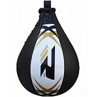 Пневмогруша боксерская RDX Leather без крепления White/Black